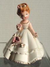 "Josef Originals Girl Bell ~ White ~ 3 1/2"""