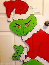 On Sale! GRINCH Stealing the CHRISTMAS Lights Yard Art Decor LEFT Green Hands