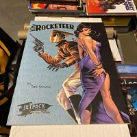 The Rocketeer Treasury Edition (IDW) Jetpack Comics LTD Edition!!!