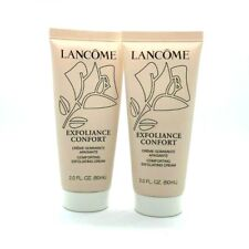 Lot/2 Lancome Exfoliance Confort Exfoliating Cream ~ 2 oz x 2 ~