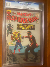 AMAZING SPIDER-MAN #26 7/65 CGC 8.5 OW FIRST CRIME MASTER! NICE HIGH GRADE BOOK