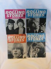 Lot of 4 The Rolling Stones Book Monthly 1965 1966 Fan Magazine Issue 8 11 14 25