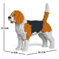 JEKCA Animal Building Blocks Kit for Kidults Beagle 01S