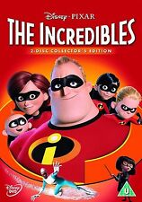 The Incredibles Orginal Disney Nelson, Samuel L. Jackson NEW SEALED UK R2 DVD