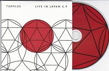 TEMPLES LIVE IN JAPAN EP RARE 4 TRACK CD