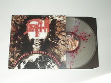 Death Individual Thought Patterns LP Splatter Vinyl Rare OOP Progressive Metal