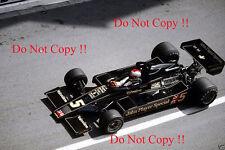 Mario Andretti JPS Lotus 78 Monaco Grand Prix 1977 Photograph 2