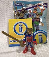 DC Super Friends Imaginext Flashpoint Wonder Woman Comic Figure Series 4 NIOP