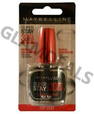 Maybelline SuperStay 3D Gel Effect Top Coat Plumping | New & Carded* | 10ml
