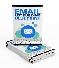 Email List Building - ebook on 1 CD