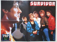 Survivor Sylvester Stallone Rocky Indochine Sirkis French POSTER France