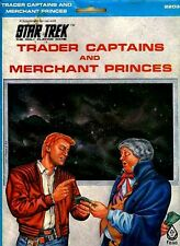 STAR TREK TRADER CAPTAINS AND MERCHANT PRINCES VF! In Folder FASA Supplement TOS