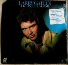 Larry Gatlin Love Is Just a Game 1977 Monument # MG 7616 COUNTRY ROCK Sealed LP