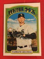 2021 Topps Heritage Baseball #396 Yasmani Grandal - Chicago White Sox