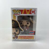 NYCC 2020 Funko Pop! Captain Crook McDonald's #99 IN HAND W/ Soft Protector READ