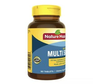Nature Made Men's Multivitamin 50+ Tablets, 90 Count