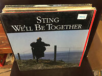 "STING We'll Be Together 12"" vinyl single 1987 in shrink POLICE"