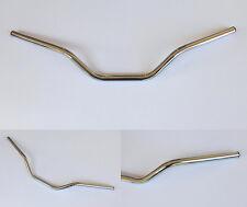 GUIDON FLAT TRACK 3 ACIER CHROME Ø 22,2mm, SCRAMBLER,BOBBER, DIRT TRACK, TRACKER