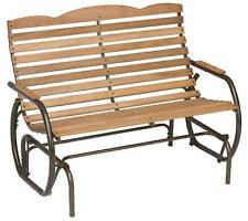 New listing Country Garden Patio Collection Hi-Back Glider