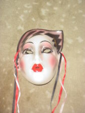 CLAY ART CERAMIC MASK...ELECTRA...EXTREMELY RARE!
