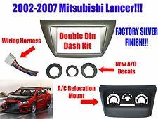 NEW! Mitsubishi Lancer 2002-2007 Aftermarket Radio Stereo Installation Dash Kit