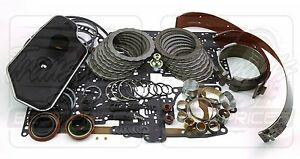Fits Ford Ranger Bronco A4LD Transmission Overhaul Deluxe Rebuild Kit 1990-95