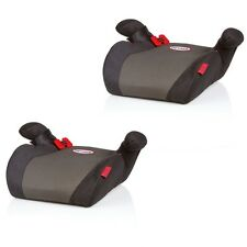 (1030) 2 x Kinderauto-Sitzerhöhung Sitz-Erhöhung 15-36 kg HEYNER SafeUp M Black