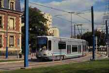 metal sign 542048 low floor articulated tram paris france a4 12x8 aluminium