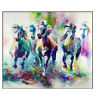 Modern Animals Horse Oil Painting On Canvas Picture Home Living Room Wall Decor