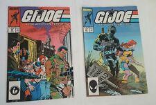 GiJoe # 62, 63  Marvel Comics