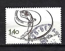 France 1980 Fédération française de golf n° 2105 oblitéré 1er choix (1)