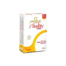 NET OMEGOR VITALITY 1000 omega-3 EPA DHA. e vitamina E 10x30 300 perle