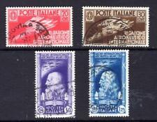 1¢ WONDER ~ ITALY #345-48 VF USED C/S ~ C768
