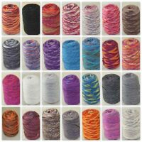 Sale NEW 500g Cone Yarn Chunky Shawl Scarf Hand Knitting Colorful Wool Cashmere