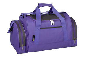 Ladies & Girls Purple Sports & Gym Bag - TRAVEL HOLDALL SCHOOL GYM WORK LEISURE