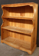 "30""x36"" Vintage Solid Wood Wooden China Dish Curio Display Shelf Pantry Hutch"