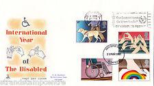 1981 disabili-MERCURIO-può disabili andare slogan, CAT £ 35!