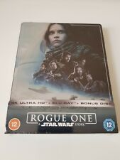 Rogue One - A Star Wars Story - Zavvi 4K Ultra HD Steelbook - New & Sealed