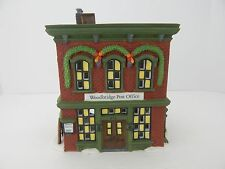 Dept 56 New England Village Woodbridge Post Office #56572 Good Condition