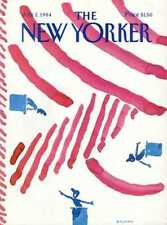 New Yorker COVER 07/02/1984 - Fourth of July cover - BLECHMAN