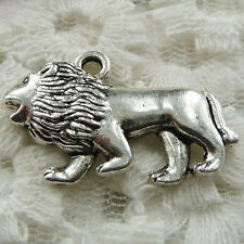 Free Ship 32 pieces Antique silver dog charms 29x19mm #396