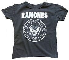Amplified Ramones Hey ho Let 's Go logotipo Kids Rock Star Vintage t-shirt 86/92