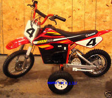 1 SET OF RAZOR MX 500 TRAINING WHEELS MX500 ELECTRIC BIKE OTHER MODELS AVAILABLE