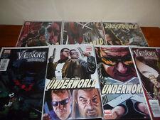 Venom Dark Origins 1-5 Complete Set + Underworld 1-5 Comics