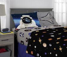 NASA Sheet Set, Kids Bedding, Space Time Rocket, 3 Piece Twin Size Set