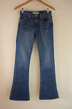 J Brand 25 Denim 1197 Martini Flare Blue Jeans Antigua Wash Wide Leg 1197C032