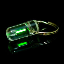 Mini colgar LLAVERO Self ILLUMINATING Fluorescence Luz Brillo Lighting 25 Año