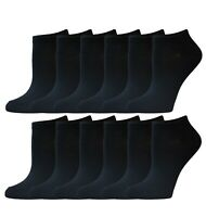New Lot 12 Pairs Women's Athletic No Show Ankle Socks Low Cut Casual Size 9-11