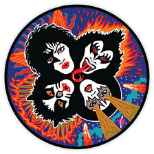 "KISS sticker decal 4"" x 4"""