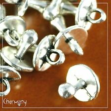 Baby Dummy/Pacifier 3D charms PACK of 10~Tibetan silver pendant bead shower